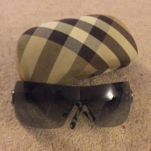 Burberry sunglasses, gradient lenses